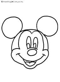 beautiful mickey mouse face coloring pages 52 free colouring