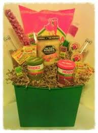 mexican gift basket the top candy basket includes lots of candy that both and