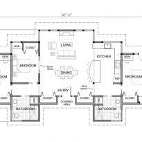 One Story Cottage House Plans Five Bedroom House Plans Open Floor Plans One Story Crtable