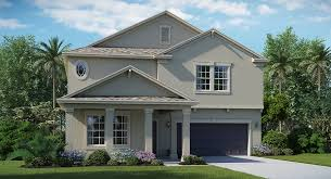 Hillside House Plans With Garage Underneath Vermont New Home Plan In Connerton By Lennar