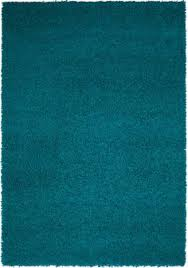 Teal Living Room Rug by Dalyn Bg69 Teal Blue Solid Vibrant Shag 8x10 Tufted Area Rug