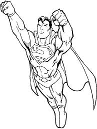 superman coloring pages download print superman coloring pages