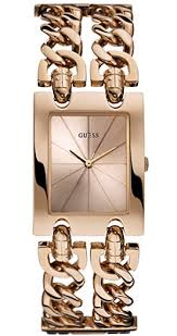 bracelet watches guess images Women 39 s rose gold guess double chain bracelet watch u0073l2 gif