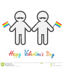 Valentine S Day Flags Happy Valentines Day Love Card Marriage Pride Symbol Two