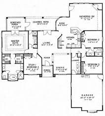 4 Bedroom Floor Plans For A House 552 Best Floor Plans Images On Pinterest House Floor Plans