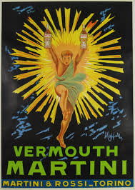 martini vintage leonetto cappiello original italian poster vermouth martini and