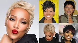 hairstyles for black women over 40 years old 2018 short haircuts for black women over 40 with fine hair