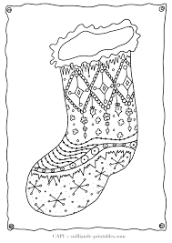 download coloring pages christmas stocking color page christmas