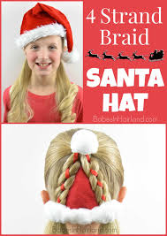santa hat hairstyle christmas hairstyle in hairland