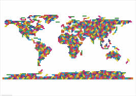Creative Maps 39 Most Creative Maps Of The World That Will Completely Change