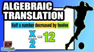 translating verbal expressions into algebraic expressions worksheets learn to translate algebraic expressions into words common