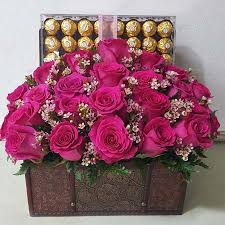 flowers and chocolate flower chocolate gifts florist floristeria