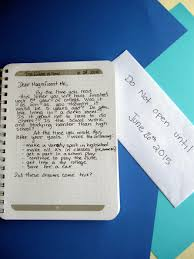 write a letter to your future self activity education com