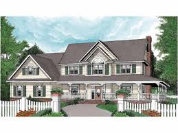farmhouse house plans with wrap around porch home plans with a