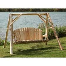 Tete A Tete Garden Furniture by Lakeland Mills 5 U0027 A Frame Yard Swing 134201 Patio Furniture