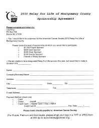 doc 585610 athlete sponsorship contract template u2013 15