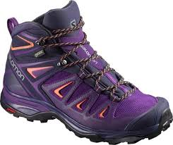 womens hiking boots size 9 salomon x ultra 3 mid gtx hiking boots s at rei