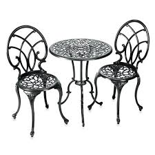 Wrought Iron Bistro Table Restoring Chairs Wrought Iron Outdoor Furniture All Home
