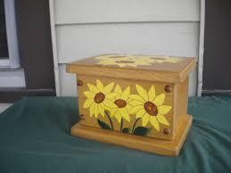 Yellow Decorative Box Wooden Box Decorative Box Keepsake Box Jewelry Box Trinket