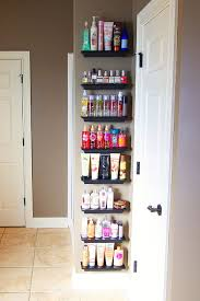 Spice Rack Organizer Use An Over The Door Spice Rack Organizer In The Bedroom To