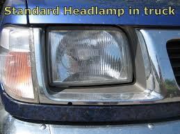offside head light lamp for nissan navara d22 rh rhd outlaw o s