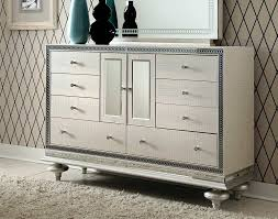 Michael Amini Hollywood Swank Bedroom Hollywood Swank Pearl Dresser By Aico Aico Bedroom Furniture