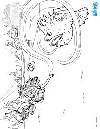stonefish lumina u0027s friend coloring pages hellokids com