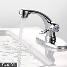 Sink Filtered Water Faucet Modern Filtering Cold Water Only Bathroom Sink Faucet
