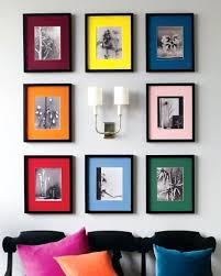 picture frame design on walls superb collage photo frame decorating