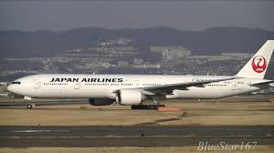 Japan Airlines Route Map by Japan Airlines Boeing 777 300er Ja731j Takeoff From Itm Rjoo