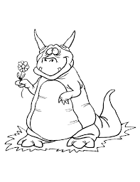 wonderful dragon color nice coloring pages 5311 unknown