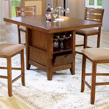 delightful ideas dining table with wine rack beautiful poundex