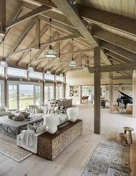 pole barn homes interior pole barn homes 91 barn house and barn living