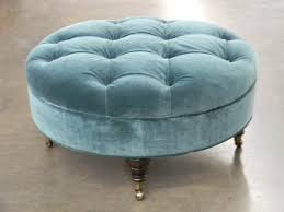 round upholstered coffee table ottoman hf round tufted ottoman upho hallman furniture upholstered