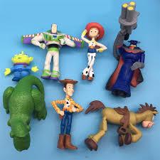 7pcs lot toy story 3 woody jessie buzz lightyear classic toys pvc