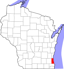 Wisconsin Lake Maps File Map Of Wisconsin Highlighting Milwaukee County Svg