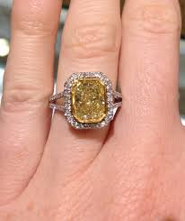 canary engagement ring diamonds aren t always the best diamonds canary