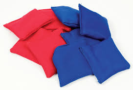set of bean bags for the champion sand bag game 10