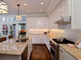 Transitional Kitchen Designs by Transitional Open White Kitchen Kerrie Kelly Hgtv