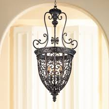 Entryway Chandeliers French Scroll 22 1 2