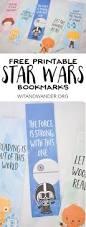 star wars bookmarks free printables for kids star wars