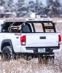 Ford F350 Truck Bed Tent - pack rack all pro off road