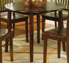 espresso dining table with leaf how to decorate with a round espresso dining table boundless table