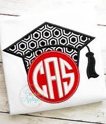 monogram graduation cap monogram graduation cap applique creative appliques