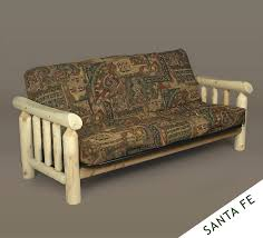 Replacement Futon Covers Design Rustic Couch For Create A Household Environment Of Lived