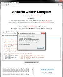 online arduino sketch compiler