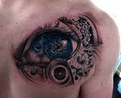 tattoo 3d mechanical 40 amazing 3d tattoo designs of 2013 in vogue