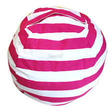 stuffed animal storage bean bag chair for baby kid toys soft