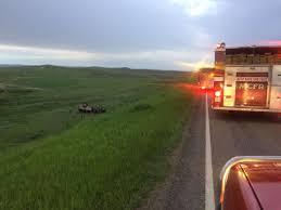 rollover south of miles city sends 8 to hospital montana news