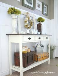 Hallway Table With Drawers Entryway Table With Drawers U2013 Anikkhan Me
